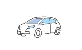 修理額または車両時価額いずれか低い額が賠償可能額になります。